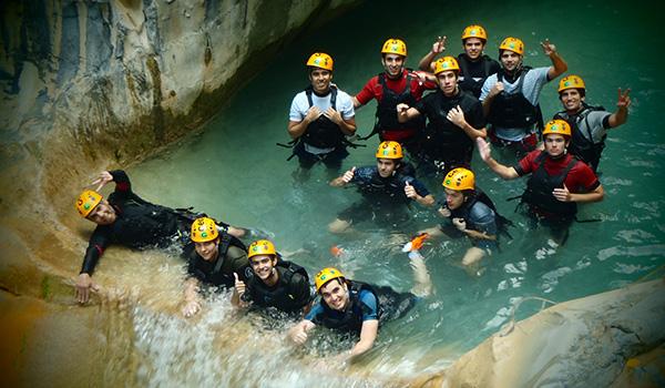 GEO Aventura Resort Parque ecológico la huasteca Cañonismo Hidrofobia matacanes