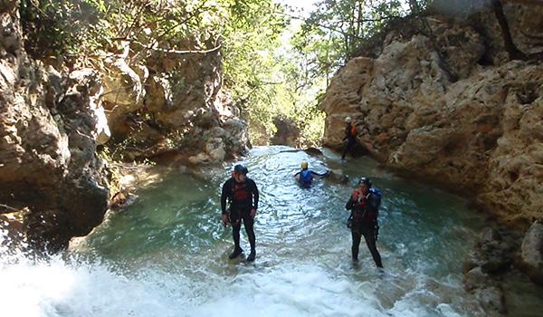 GEO Aventura Resort Parque ecológico la huasteca Cañonismo Hidrofobia