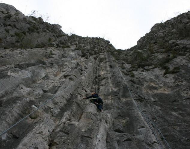 La Huasteca: escalada y rapel