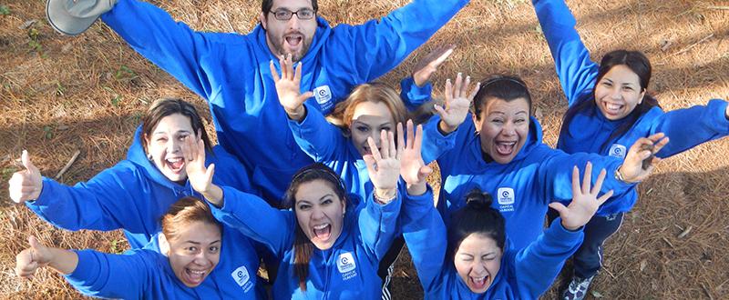 GEO Aventura team building