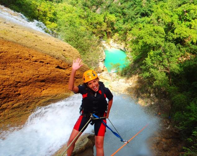 Las mágicas cascadas de Chipitín